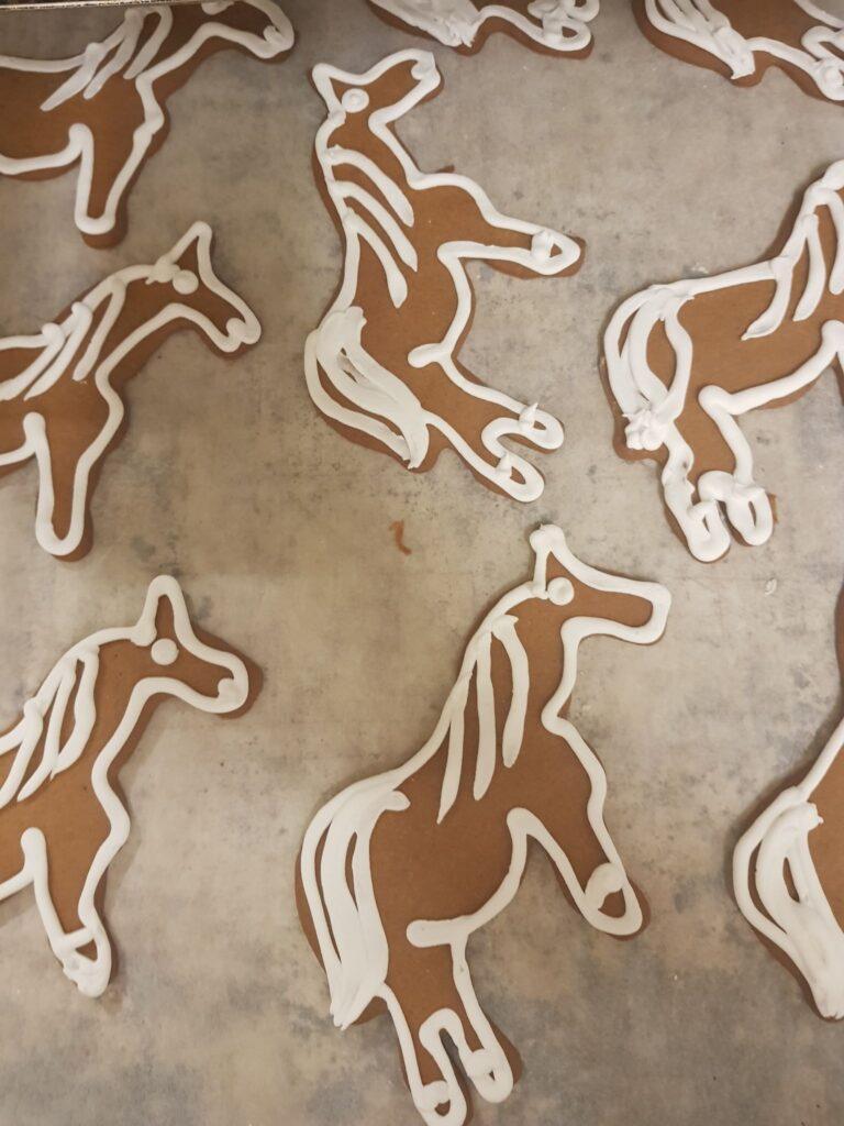 Pepparkakor Häst