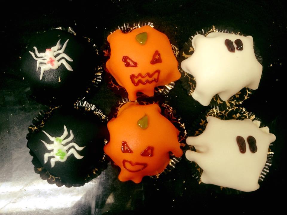 Halloween bakelse
